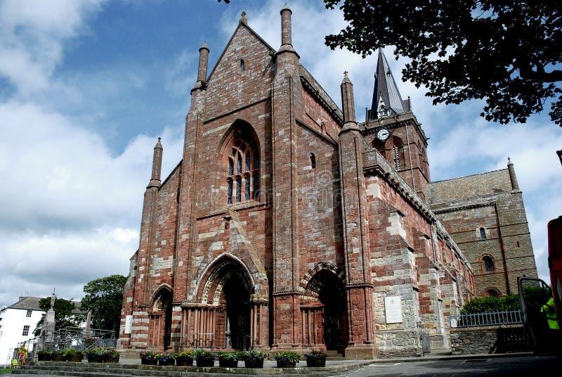 Cathédrale de St.Magnus ; Kirkwall photographie stock
