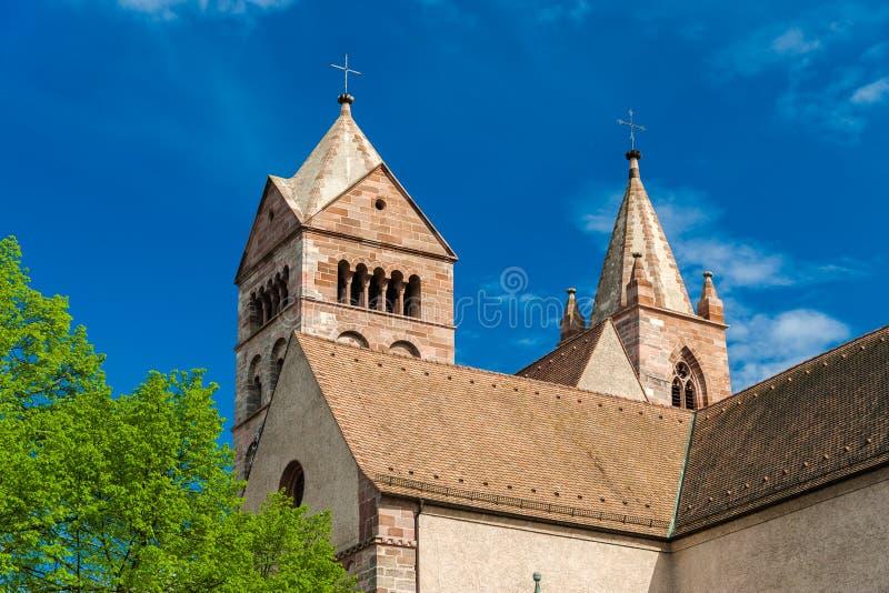 Cathédrale de St Stephan de Breisach photo libre de droits