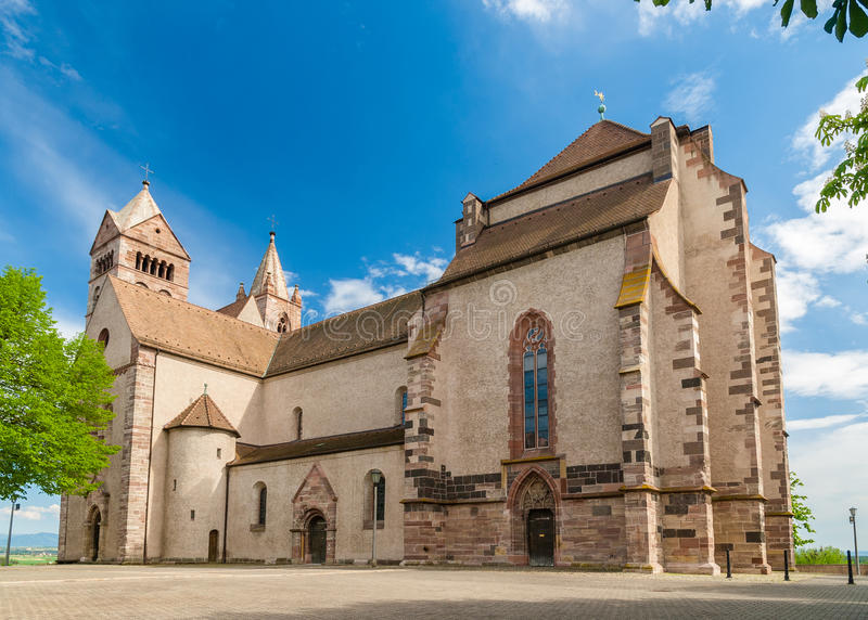 Cathédrale de St Stephan de Breisach, Baden-Wurttemberg, allemand photo stock
