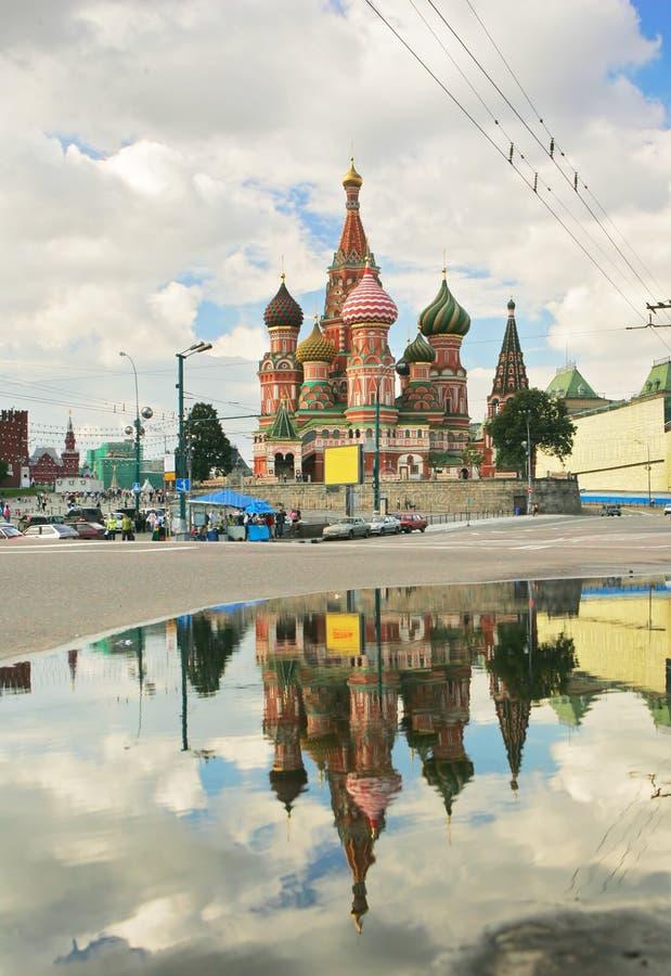 Download Cathédrale De StBasil à Moscou Photo stock - Image du ethnicity, affaires: 56488690
