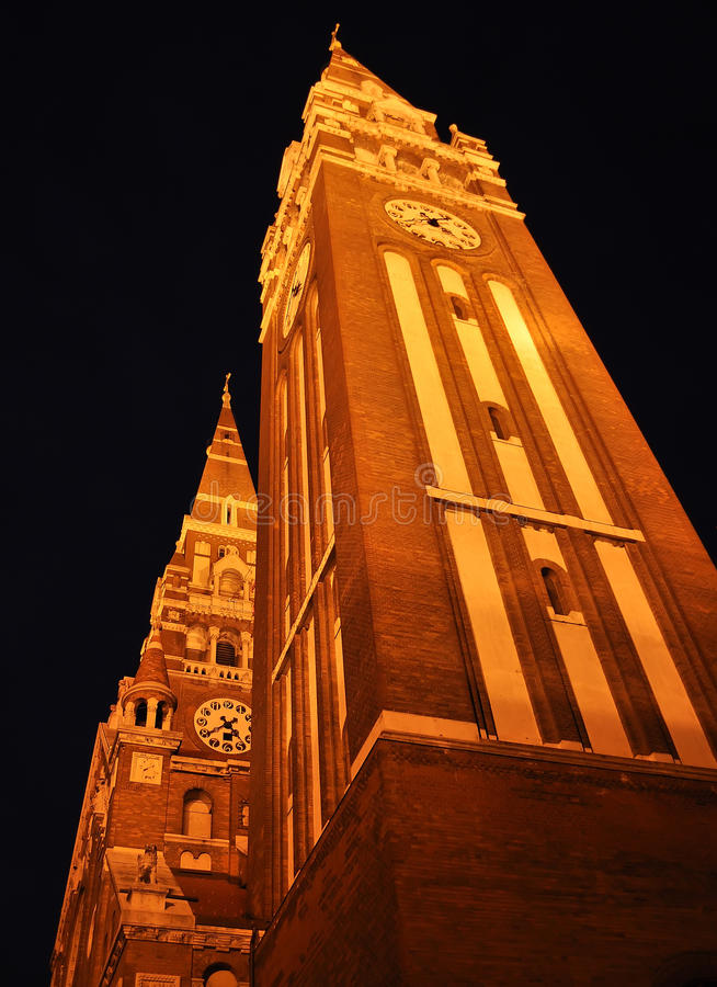 Cathédrale de Szeged photo stock