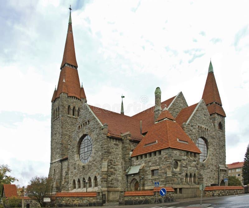 Cathédrale de Tampere à Tampere finland images stock