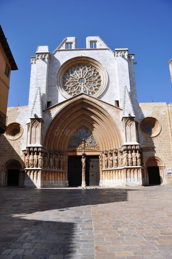 Cathédrale de Tarazona images libres de droits
