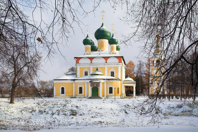 Cathédrale de Transfiguration dans l'Uglich Kremlin photos stock