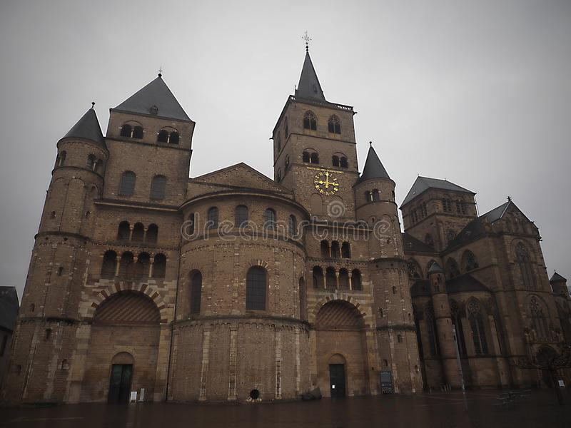 Cathédrale de Trier - Allemagne photo libre de droits