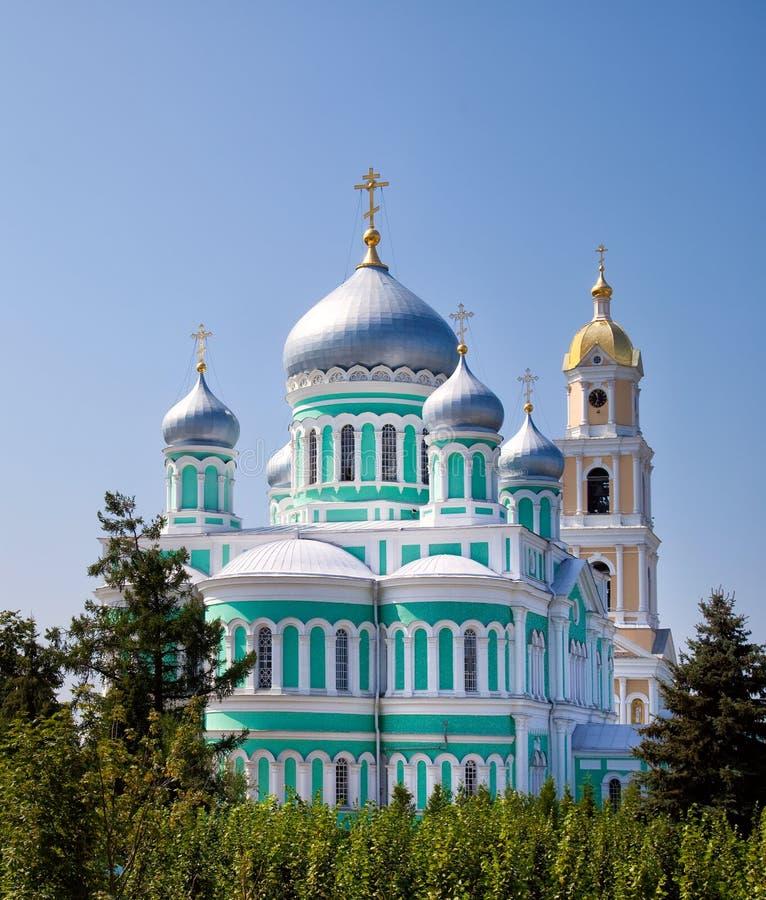 Cathédrale de trinité du monastère de séraphin-Diveevo de trinité sainte images stock
