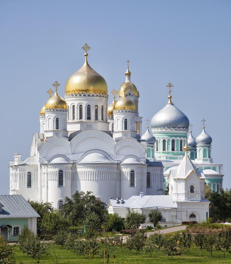 Cathédrale de trinité du monastère de séraphin-Diveevo de trinité sainte photographie stock