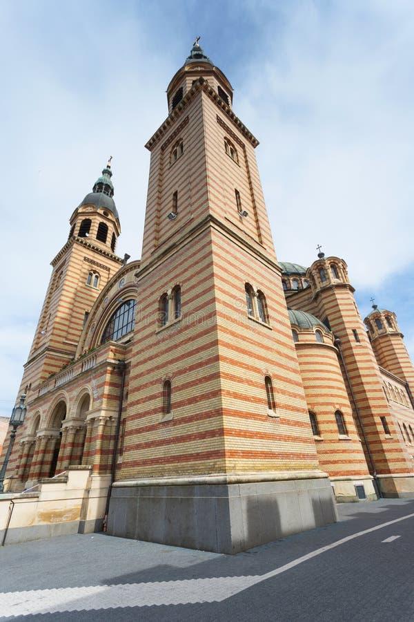 Cathédrale de trinité sainte à Sibiu photographie stock