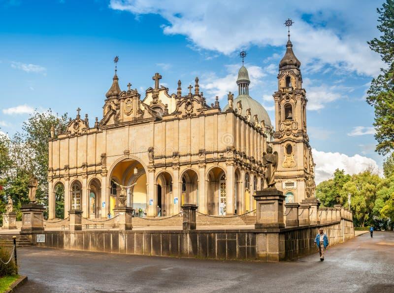 Cathédrale de trinité sainte photo libre de droits