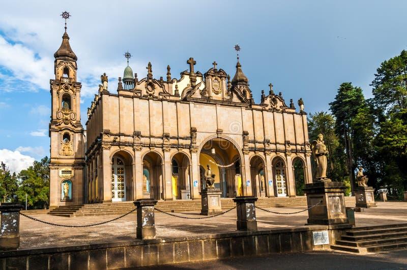 Cathédrale de trinité sainte image libre de droits