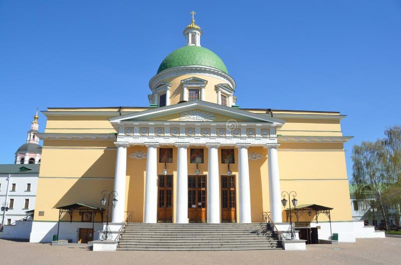 Cathédrale de Troitsky en monastère de Svyato-Danilov à Moscou photo stock