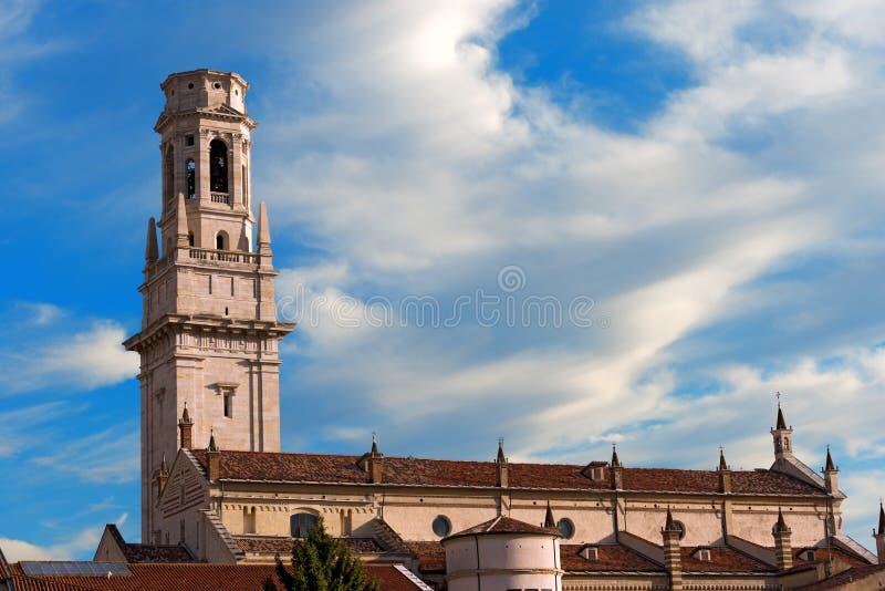 Cathédrale de Vérone - Vénétie Italie photos libres de droits