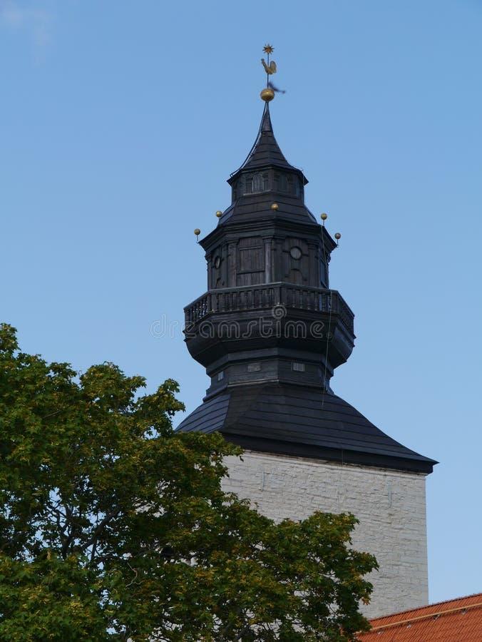 Cathédrale de Visby image libre de droits