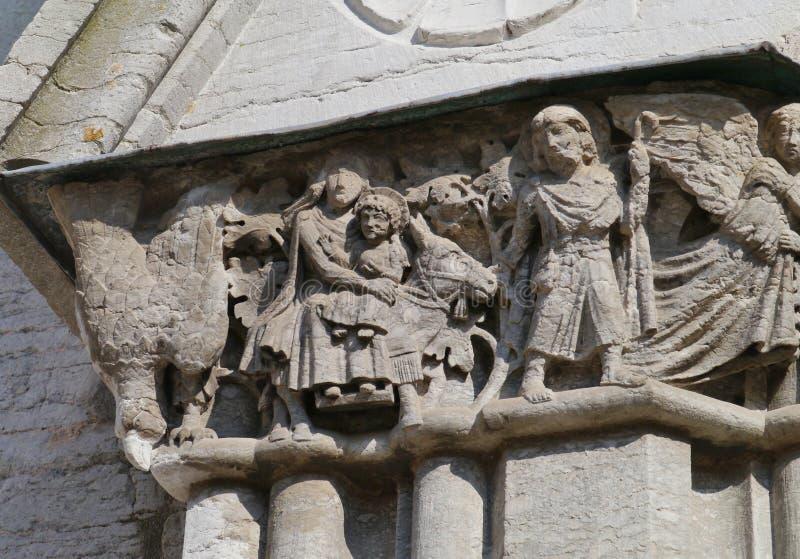Cathédrale de Visby sur le Gotland images libres de droits