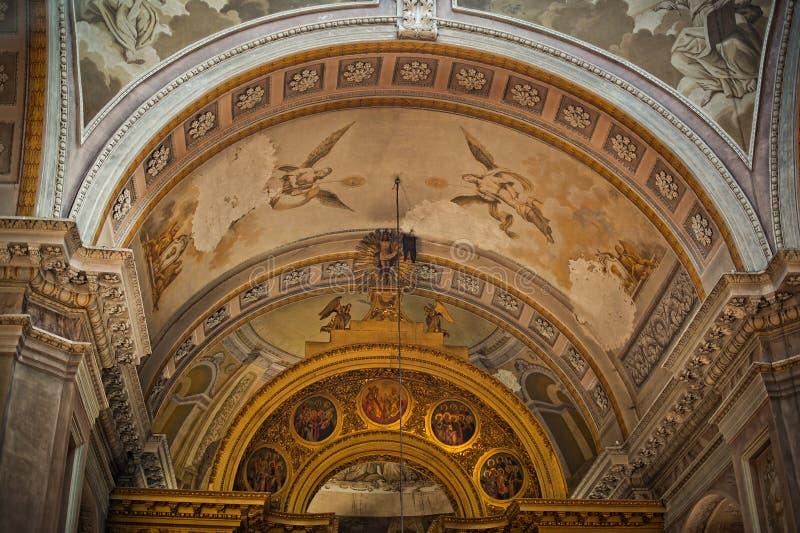 Cathédrale de Voskresensky de la ville d'Arzamas photographie stock