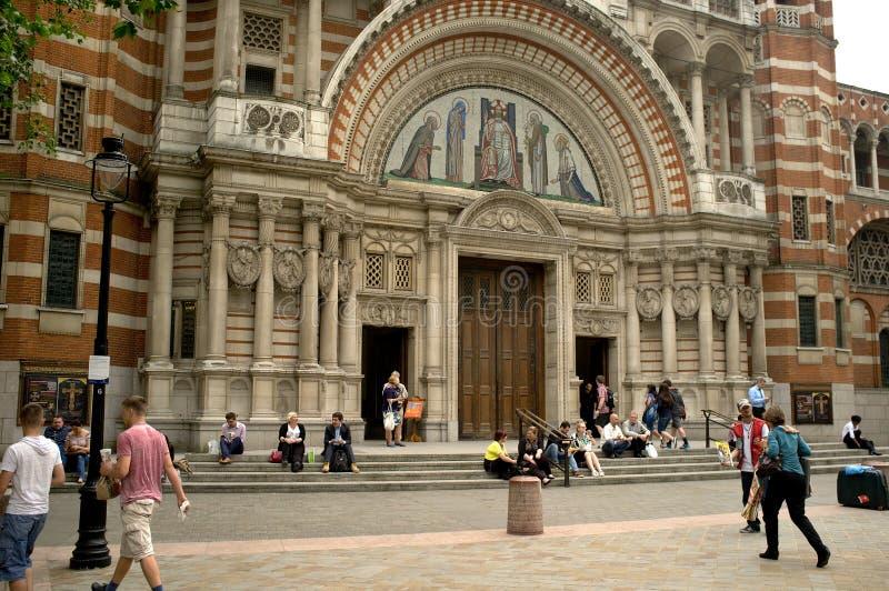 Cathédrale de Westminster images libres de droits
