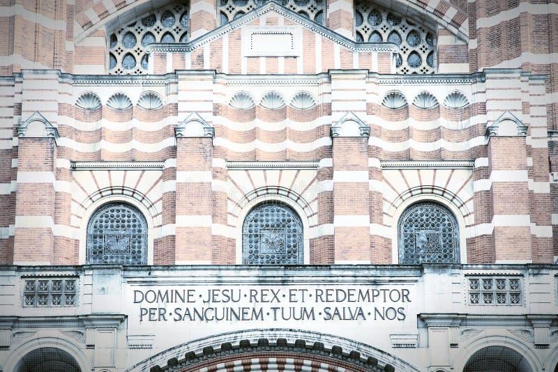 Cathédrale de Westminster photographie stock