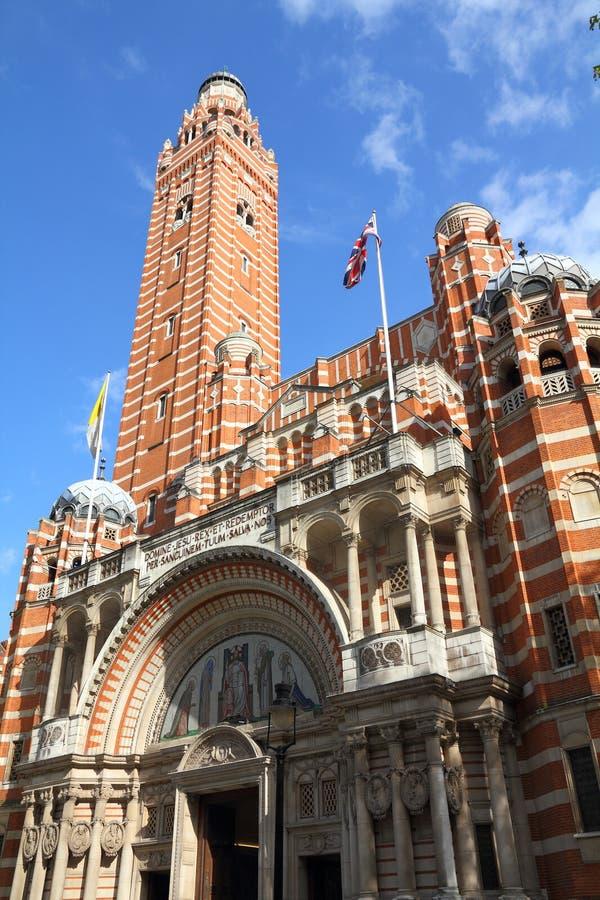 Cathédrale de Westminster, Londres photos libres de droits