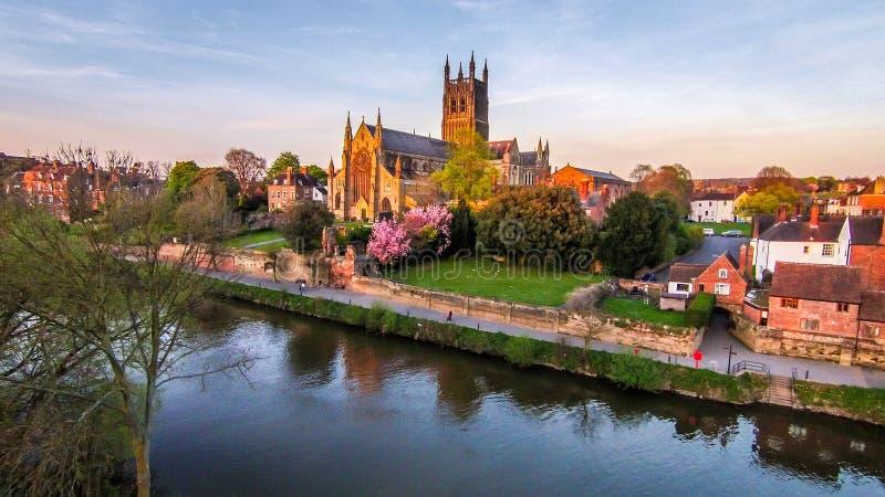 Cathédrale de Worcester images stock