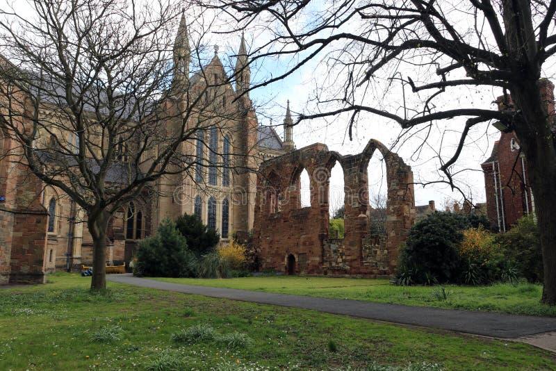 Cathédrale de Worcester image stock