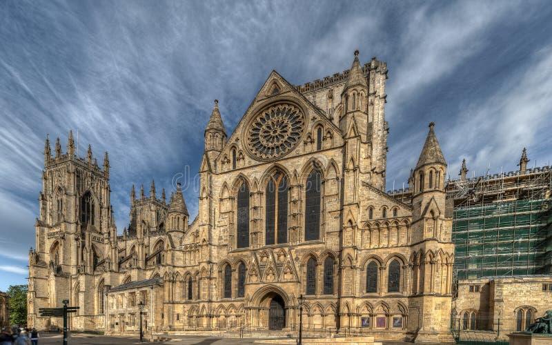 Cathédrale de York au Royaume-Uni photo libre de droits