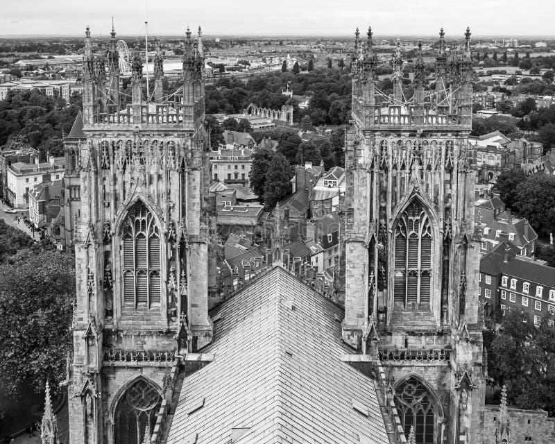 Cathédrale de York Minster à York Yorkshire, Angleterre images stock