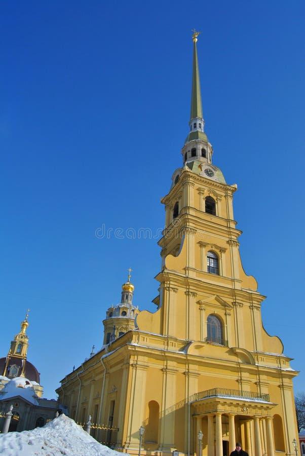 Cathédrale des apôtres saints Peter et Paul photographie stock