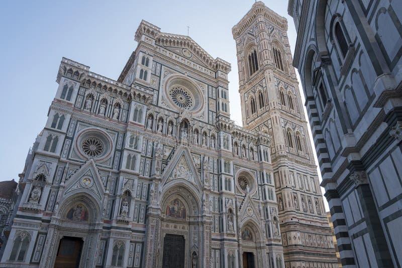 Cathédrale des Di Santa Maria del Fiore Duomo di Firenze Florence, Italie de cattedrale de fleur de St Mary image stock