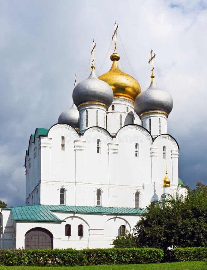Cathédrale du graphisme de Smolensk de notre Madame image libre de droits