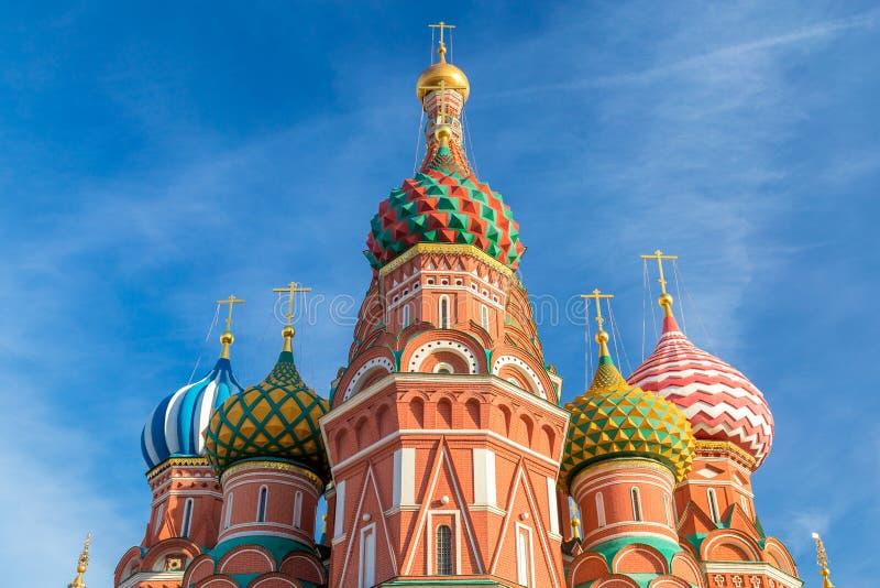 Cathédrale du ` s de Basil de saint à Moscou image stock