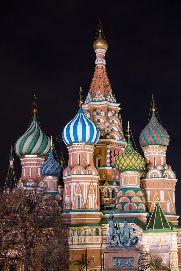 Cathédrale du ` s de Basil de saint à Moscou, Russie photos libres de droits