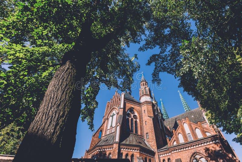 Download Cathédrale Du ` S De St Florian à Varsovie Photo stock - Image du architecture, jour: 87708044
