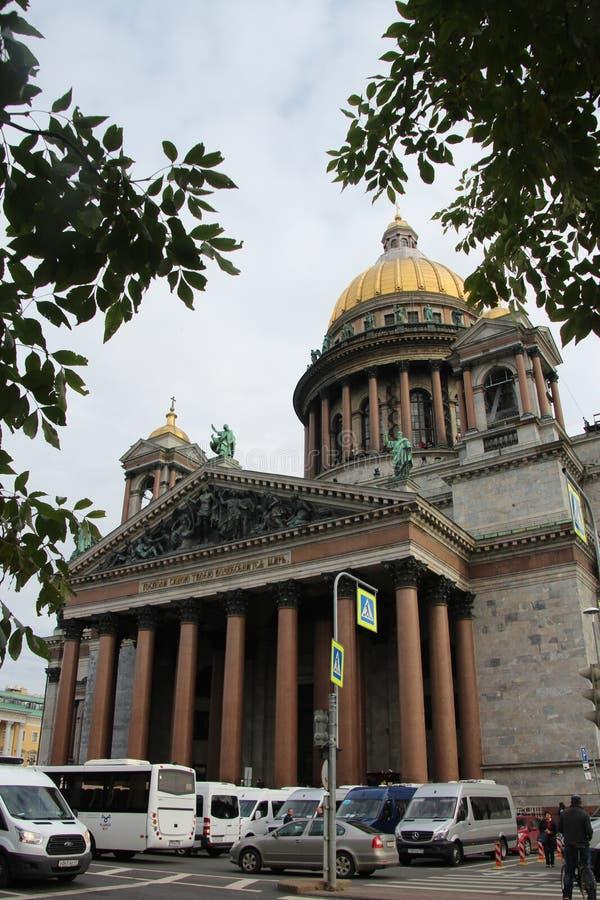 Cathédrale du ` s de St Isaac images libres de droits