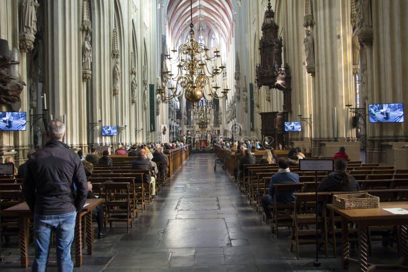 Cathédrale du ` s de St John image libre de droits