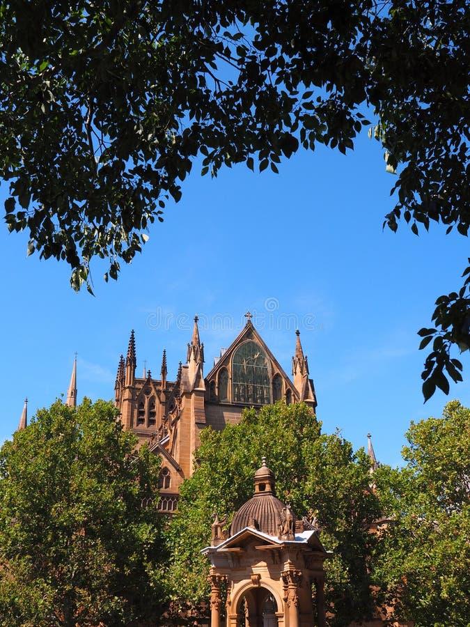 Cathédrale du ` s de St Mary, Sydney, Australie photographie stock libre de droits