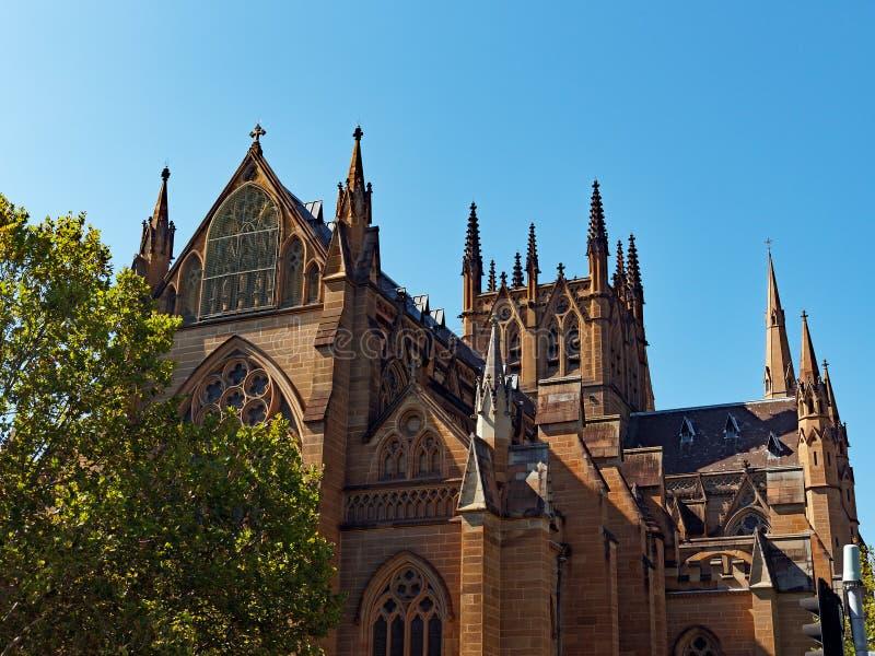 Cathédrale du ` s de St Mary, Sydney, Australie image stock