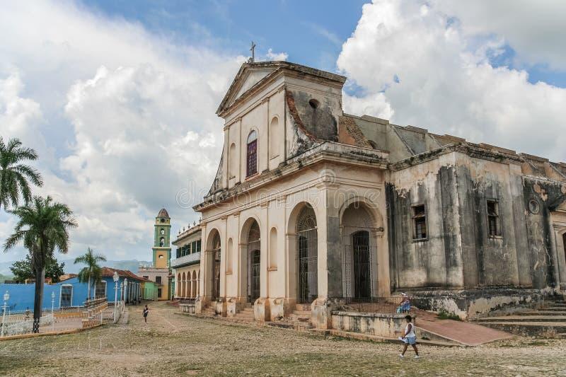 Cathédrale du Trinidad photographie stock libre de droits