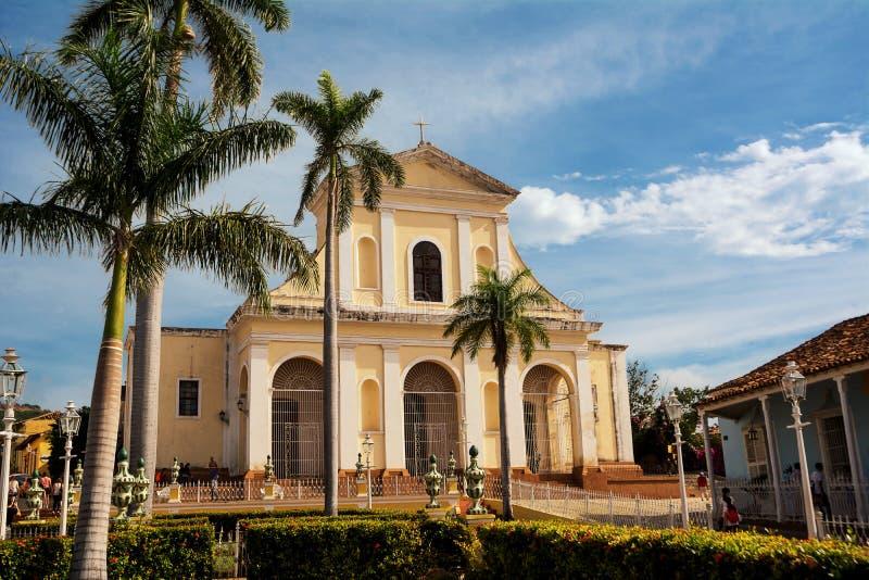 Cathédrale du Trinidad dans un jour ensoleillé image libre de droits