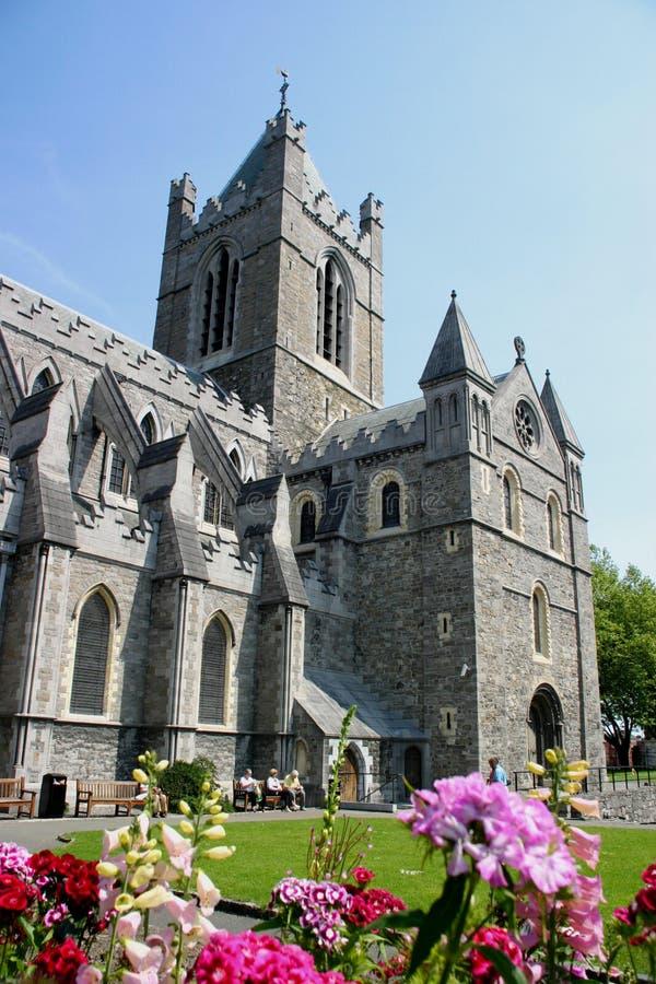 Cathédrale Dublin d'église du Christ photos libres de droits