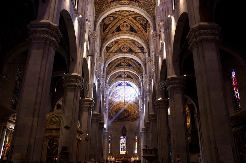 Cathédrale (Duomo) de Lucques image stock