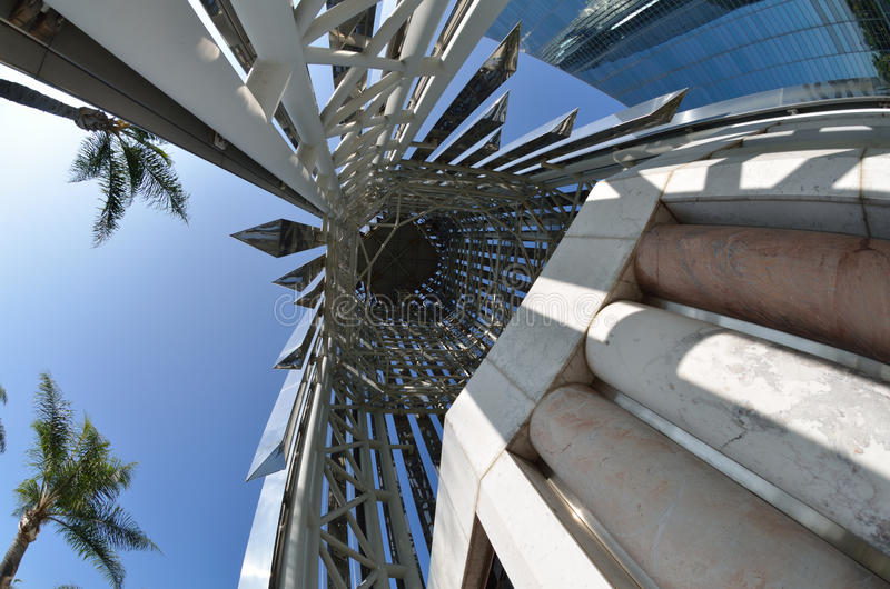 Cathédrale en cristal photo libre de droits