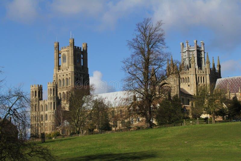 Cathédrale en Ely Cambridgeshire image stock