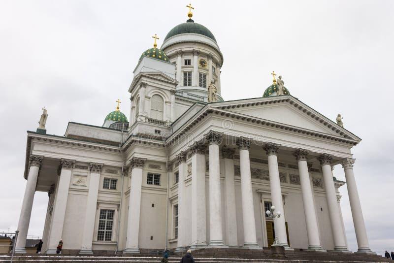 cathédrale Finlande Helsinki photographie stock