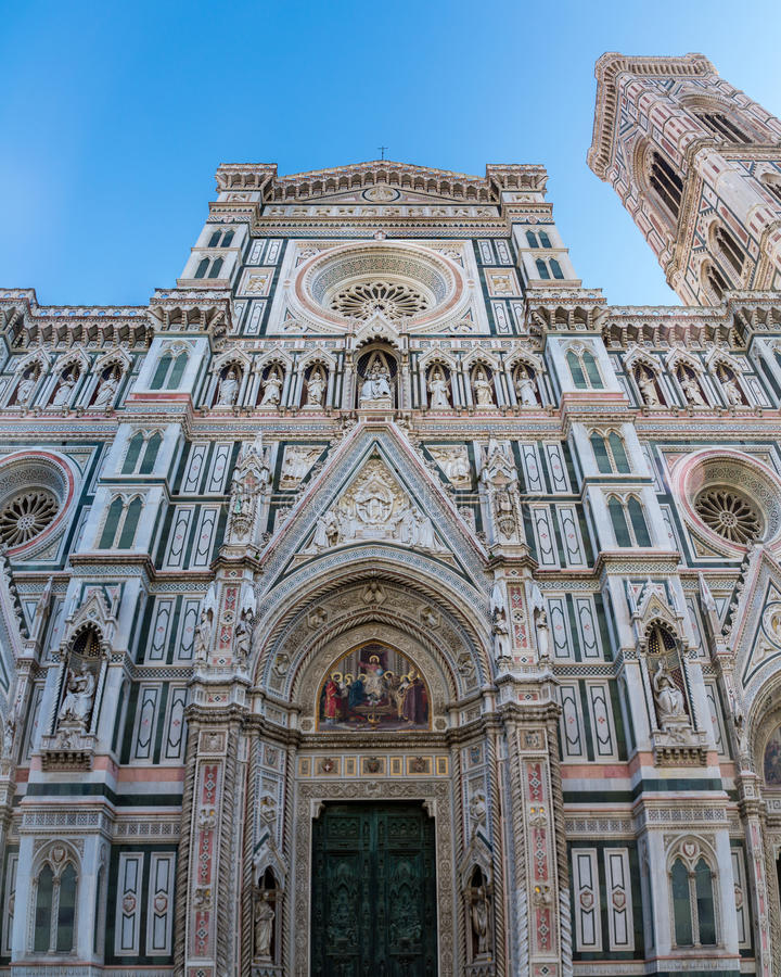 cathédrale Florence Italie image stock