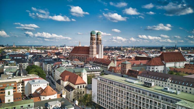 Cathédrale Frauenkirche à Munich, Allemagne photographie stock