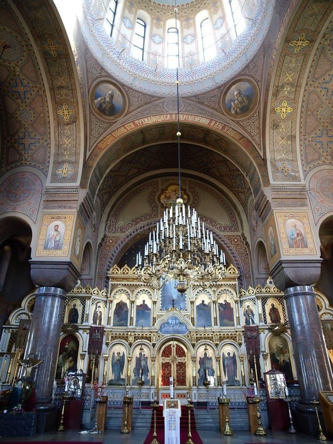 cathédrale Helsinki uspensky photo stock