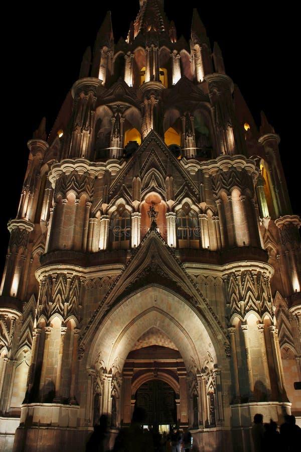 Cathédrale I de San Miguel images libres de droits