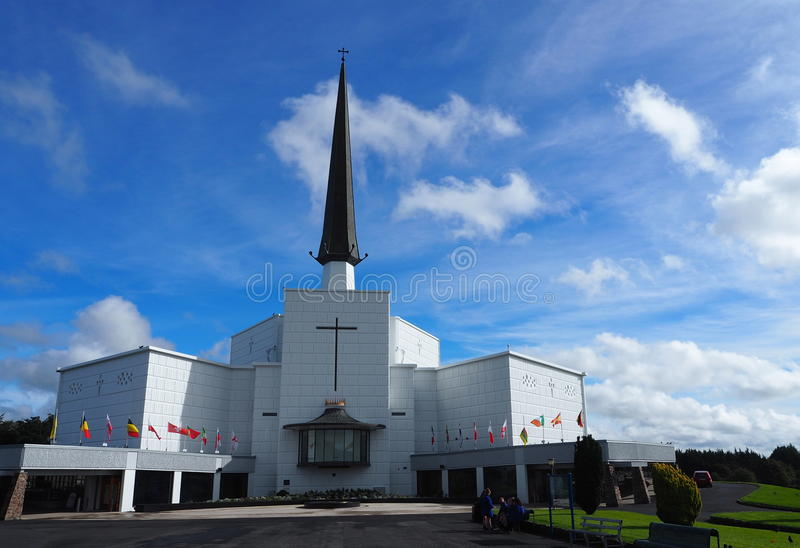 Cathédrale Irlande de coup photo stock