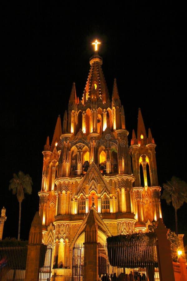 Cathédrale IV de San Miguel images stock