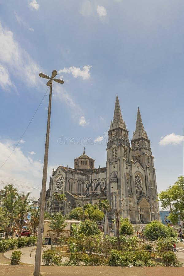Cathédrale métropolitaine Fortaleza Brésil photos stock